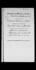 Letters from Ebenezer Bassett to John Cadwalader, January - September, 1876