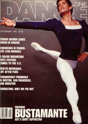 Dance Magazine, Vol. 64, no. 9, September, 1990