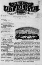 American Art Journal, Vol. 1, no. 15, April 29, 1876