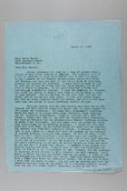 Letter from Carrie Chapman Catt to Grace Rhoads, March 29, 1946