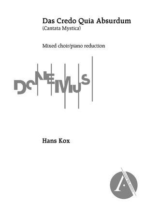 Das Credo Quia Absurdum (Piano Reduction), C Major