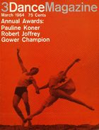 Dance Magazine, Vol. 38, no. 3, March, 1964