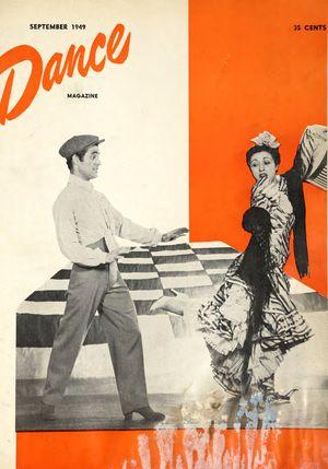 Dance Magazine, Vol. 23, no. 9, September, 1949