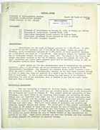 General Report from John T. Lassiter for January, 1944
