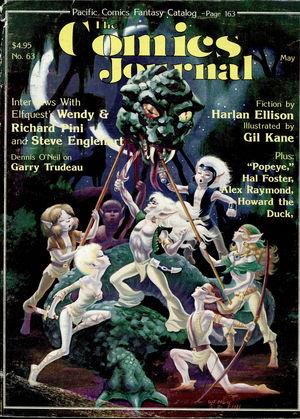 The Comics Journal, no. 63