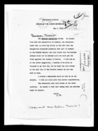 Department of State Memorandum re: Russian Ambassador's concerns about recognition of Armenia, May 5, 1920