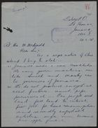 Letter from J. A. McPheron to M. McDonald, re: Suggestions for Improving Conditions in Jamaica from a Negro Native, June 20, 1938