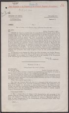 Correspondence re: Affairs of China-Confidential, from Sir J. Jordan to Sir Edward Grey, December 1-15, 1911, with Enclosures from Acting Consul Sly to Sir J. Jordan, November-December 1911
