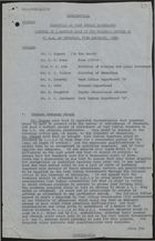 Committee on West Indian Immigrants - Minutes of Meeting Held in Colonial Office at 11 a.m. on Thursday, 11th December, 1958