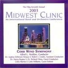 2003 Midwest Clinic: Cobb Wind Symphony