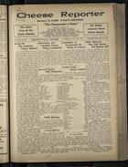 Cheese Reporter, Vol. 55, no. 20, Saturday, January 24, 1931