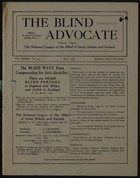 The Blind Advocate, Vol. 33, No. 433, May 1936