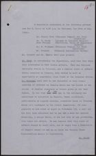 Minutes re: Meeting with Sir H. Moore on Outbreak of Violence in Jamaica, May 26, 1938