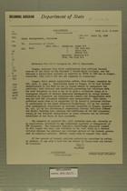 Airgram from AmConGeneral, Jerusalem to Secretary of State, April 15, 1959