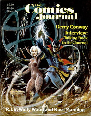 The Comics Journal, no. 69