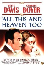 All This and Heaven Too (1940): Shooting script