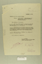 Combined Correspondence Discussing Incursion of American Aircraft into Chihuahua, Mexico, Aug. 29 - Sept. 29, 1919