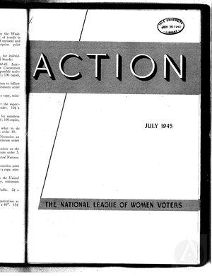 Action, vol. 1 no. 5, July 1945