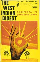West Indian Digest, September 1972 Vol. 2, No. 4, The West Indian Digest, September 1972 Vol. 2, No. 4