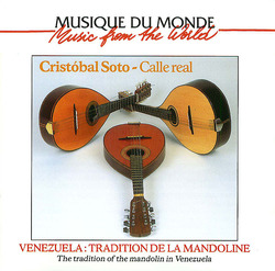 Venezuela: Tradition De La Mandoline Album Art