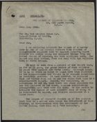 Memo from Harold A. Moody re: Previously Attached Report Concerning Illegitimate Children Born to English Mothers, December 14, 1945