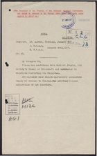 Deciphered Telegram from Mr. Beilby Alston to Foreign Office re: Recruitment Efforts in Tsingtao, January 30, 1917