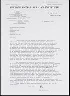Letter from John Middleton to MG, 11 Dec. 1973