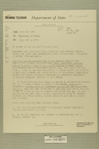 Telegram Henry Cabot Lodge, Jr. from USUN New York to Secretary of State, May 7, 1956