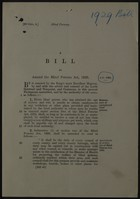 A BILL To Amend the Blind Persons Act, 1920