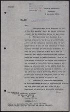 Letter from E. C. Hole to Foreign Office re: Stalemate, September 3, 1926