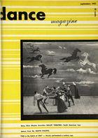 Dance Magazine, Vol. 25, no. 9, September, 1951