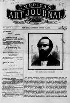 American Art Journal, Vol. 25, no. 10, August 19, 1876