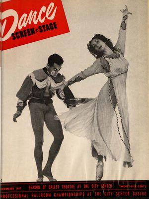 Dance Magazine, Vol. 21, no. 12, December, 1947