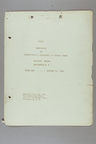 First Convention of International Conference of Working Women, Washington, D.C., 30 October 1919: Proceedings of the Third Day