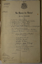 Im Namen des Königs, June 16, 1906
