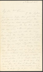 Letter from Jane Cannan to her mother in law Mrs Cannan, [1]8 March 1855 (nla.obj-536512660)