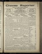 Cheese Reporter, Vol. 54, no. 39, Saturday, June 7, 1930