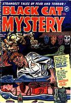 Black Cat Mystery Comics, Vol. 1 no. 34