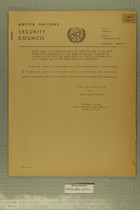 Letter Dated 30 October 1952 from the Chief of Staff of the Truce Supervision Organization to the Secretary-General Transmitting a Report on the Decisions Made During the Period 1 November 1951 to 30 October 1952 by the Mixed Armistice Commissions