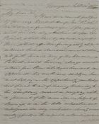 Letter from Hannibal Hawkins MacArthur to William Leslie, September 21, 1837