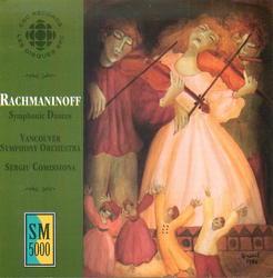 Rachmaninoff: Symphonic Dances Album Art