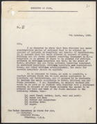 Letter from A. Alderman to the Under Secretary of State for Air, Oct. 7, 1939