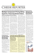 Cheese Reporter, Vol. 139, No. 8, Friday, August 15, 2014