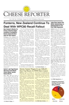 Cheese Reporter, Vol. 138, No. 8, Friday, August 16, 2013