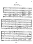 Das Benedicite vor dem Essen, Op. 13, SWV 429