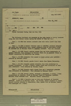 Foreign Service Despatch - Border Incidents During June and July 1953