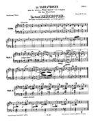 24 Variationen über die Ariette: 'Vieni amore' von V. Righini, WoO 65, D Flat Major