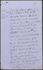 Confidential Memo from J. L. A. Simmons, January 18, 1877