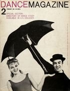 Dance Magazine, Vol. 35, no. 2, February, 1961