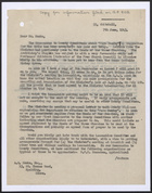 Letter from A. W. Knee to A. E. Monks, re: Farm Sunday, June 7, 1943